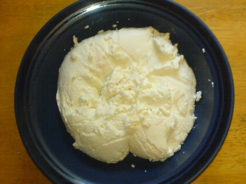 My chèvre made with local raw goat milk.