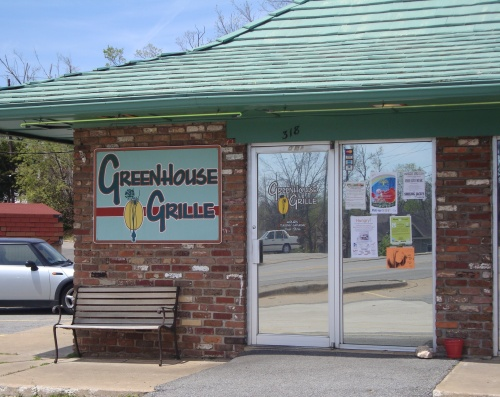 Greenhouse Grille serves conscious cuisine in Fayetteville, Arkansas.
