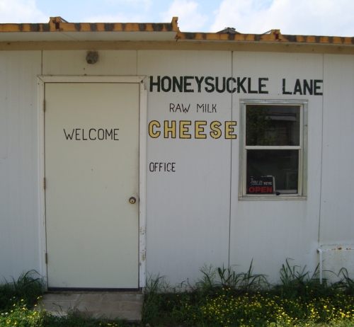 Located in Rose Bud, Arkansas, Honeysuckle Lane is the only certified cheesemaker in the state at the moment and the first raw milk cheesemaker in Arkansas.