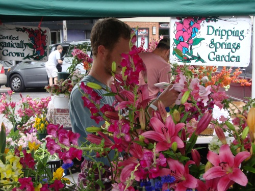 Located 50 miles east of Fayetteville, the Dripping Spring Garden sells beautiful flowers.