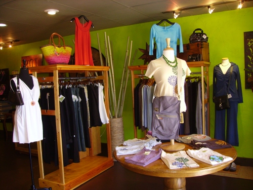 Next time you are in Fayetteville, stop by Good Things Boutique and check out its selection of stylish green clothing!