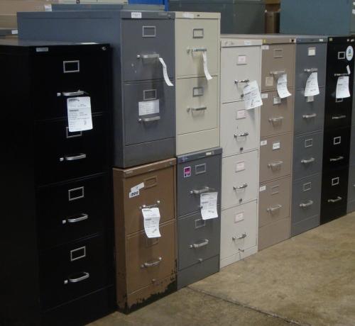 Arkansas State Surplus Warehouse sells office furniture...