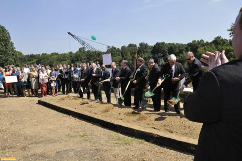 The new facility will occupy the former site of International Paper plant that closed almost a decade ago.