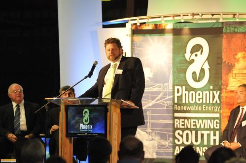 Sam Anderson, CEO, Phoenix Renewable Energy, said that Europe's cap and trade made his business possible, and that the business community should be more positive about cap and trade.
