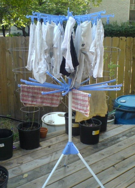 My favorite clothes drying rack.